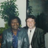 Albert Collins and Michael Osborn in Den Haag - circa 1991
