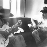 With John Lee Hooker